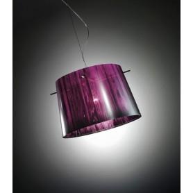 Slamp Woody Sunspension Purple Lampadario 1 Luce R.E