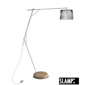 Slamp Woody Floor Lamp White Lampada Terra 1 Luce
