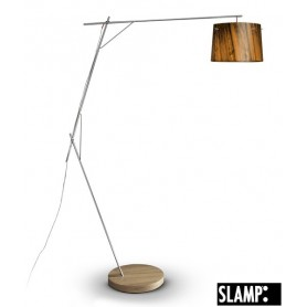 Slamp Woody Floor Lamp Orange Lampada Terra 1 Luce