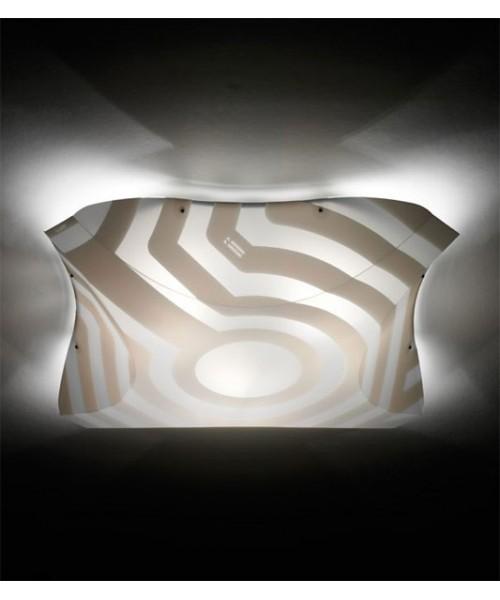 Slamp Plana Venti Large Lampada Parete/Soffitto 4 Luci R.E