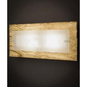 Familamp Corteccia 312 AG Parete/soffitto V. Murano 2 Colori