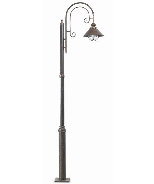Faro Nàutica 71116 Lampione Esterno Rustico 1 Luce