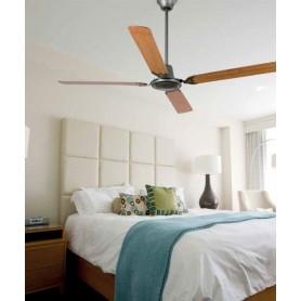 Faro Malvinas 33110 Ventilatore da Soffitto senza Luce Grigio