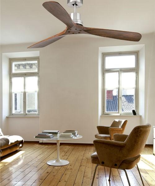 Faro Lantau 33370 Ventilatore da Soffitto senza Luce Nichel