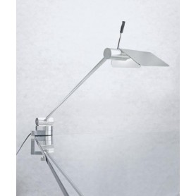 Micron Attik Led Lampada Tavolo con Morsetto 2 Colori LED