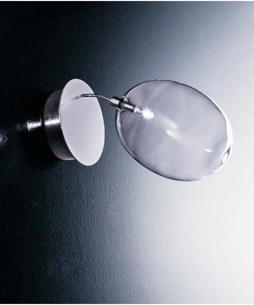 De Majo Pro-Secco A1 Lampada Parete 1 Luce Cristallo