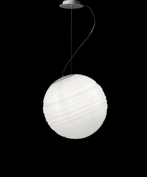 De Majo Stratosfera S25 Lampadario 1 Luce R.E Bianco