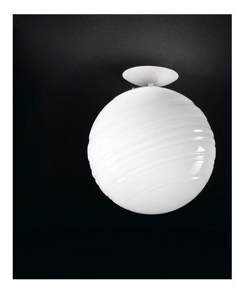 De Majo Stratosfera P25 Lampada Soffitto 1 Luce R.E Bianco