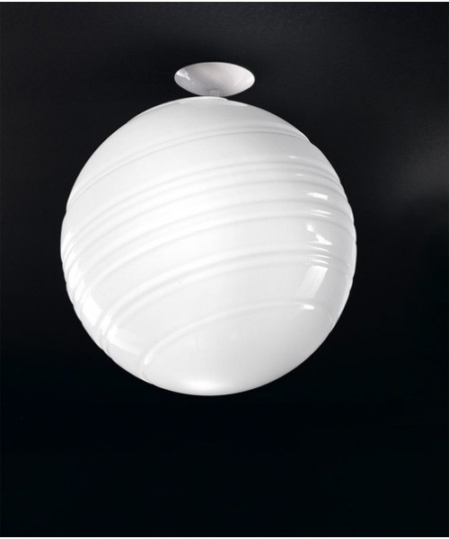 De Majo Stratosfera P40 Lampada Soffitto 1 Luce R.E Bianco