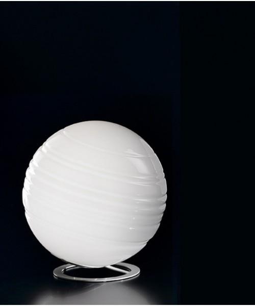 De Majo Stratosfera L25 Lampada Tavolo R.E Bianco