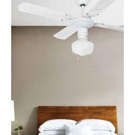Faro Aruba 33121 Ventilatore da Soffitto con Luce Bianco