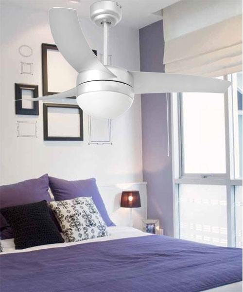 Faro Easy 33416 Ventilatore da Soffitto Luci R.E Grigio
