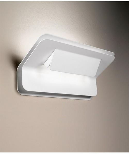 De Majo Dakota A-G9 Lampada Parete Bianco opaco