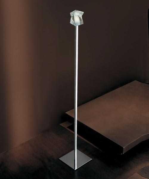 De Majo Otto x Otto R3 Lampada da Terra Cristallo