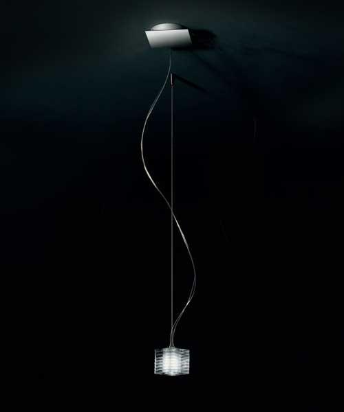 De Majo Otto x Otto S1 Lampada Sospensione 1 Luce Cristallo
