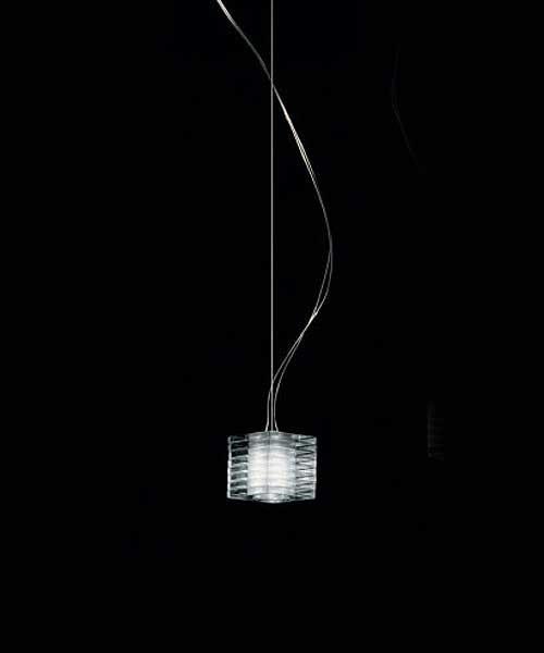 De Majo Otto x Otto S1D Lampada Sospensione 1 Luce Cristallo