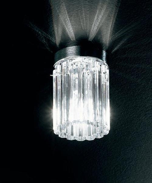 De Majo Charlotte P1 Lampada Soffitto Cristallo