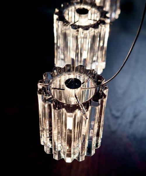 De Majo Charlotte S2D Lampada Sospensione Cristallo