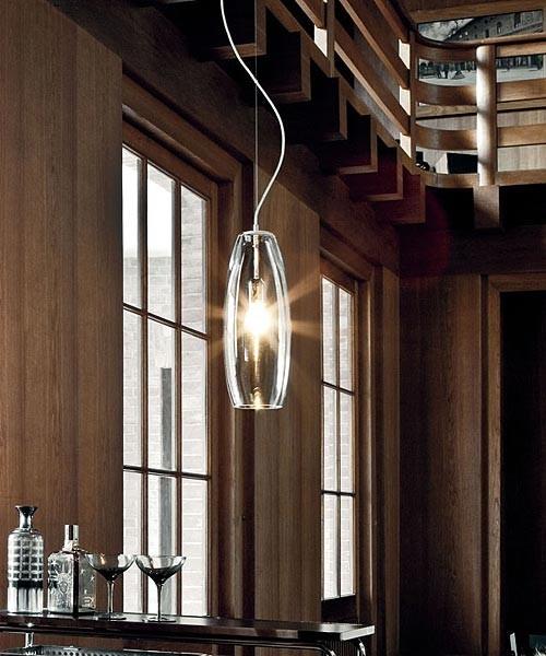 De Majo Peroni S16D6 Lampada Sospensione Cristallo