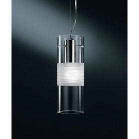 De Majo Xilo S10D Lampada Sospensione 1 Luce Cristallo