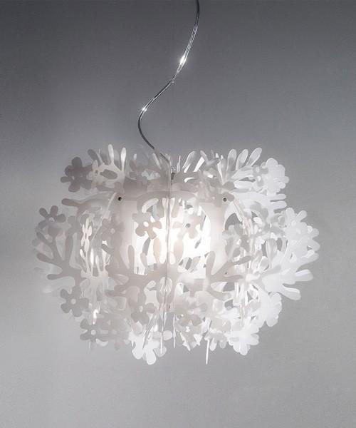 Slamp Fiorella Mini Lampada Sospensione Bianco