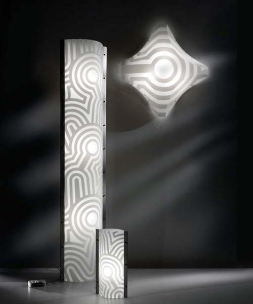Slamp Tube Venti XL Lampada Terra