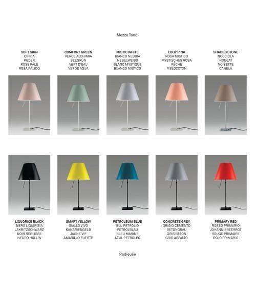 Luceplan Costanza D13 Allumino Lampada Moderna Da Tavolo Con Dimmer