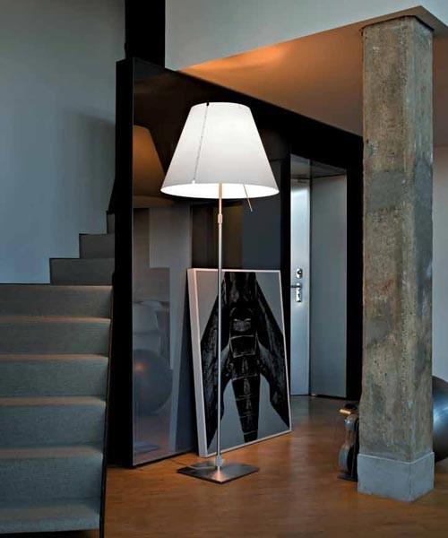 Luceplan Grande Costanza D13G t. Lampada Terra Dimmer
