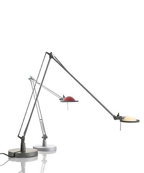 Luceplan Berenice D12 EL pi. Lampada Tavolo Alluminio