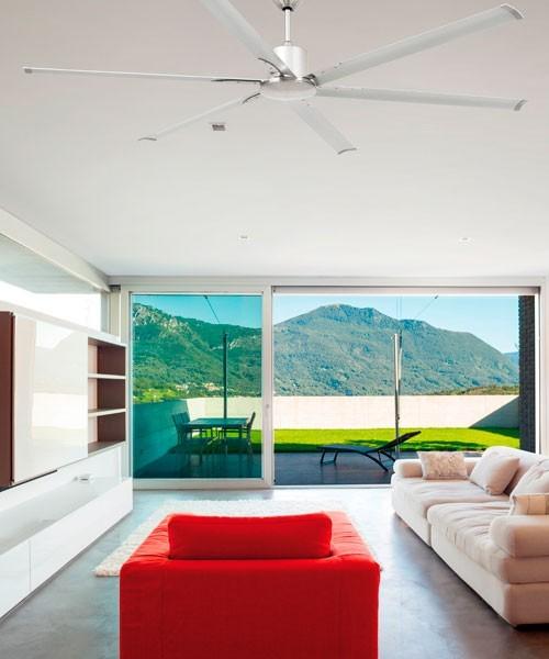 Faro Andros 33465 Ventilatore da Soffitto Senza Luce Bianco