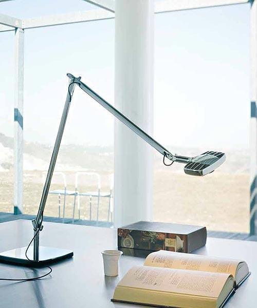 Luceplan Otto Watt Lampada Tavolo Mirror