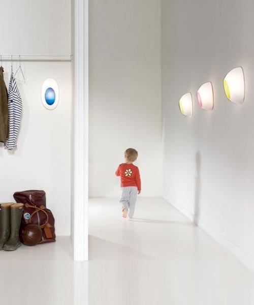 Luceplan Goggle D52f EL Lampada Parete/Soffitto R.E