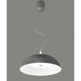 ACB Sivan 3449/45 Lampadario a LED 15W + 10W Grigio Scuro