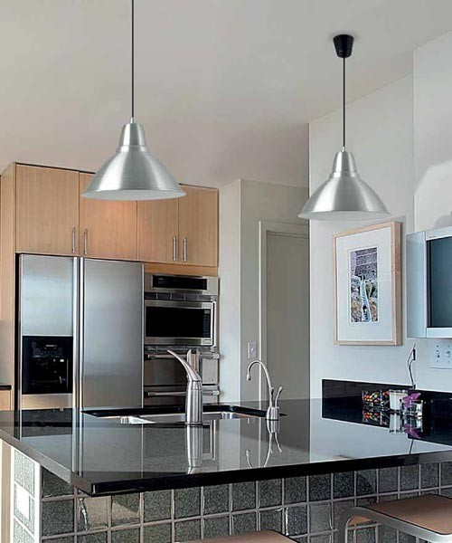 Faro Aluminio-1 64100 Lampadario moderno 1 Luce