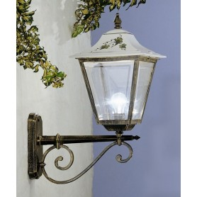 Ferroluce Gorizia C382 AP Lampada Parete Ceramica Esterno