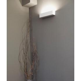 Faro Eaco-2 63177 Lampada Parete in Gesso 2 Luci
