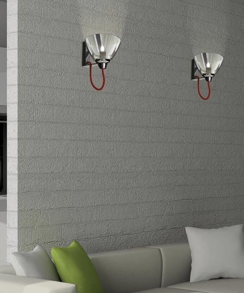 AV Mazzega Mirror AP1109 Lampada Parete 20cm 2 Colori