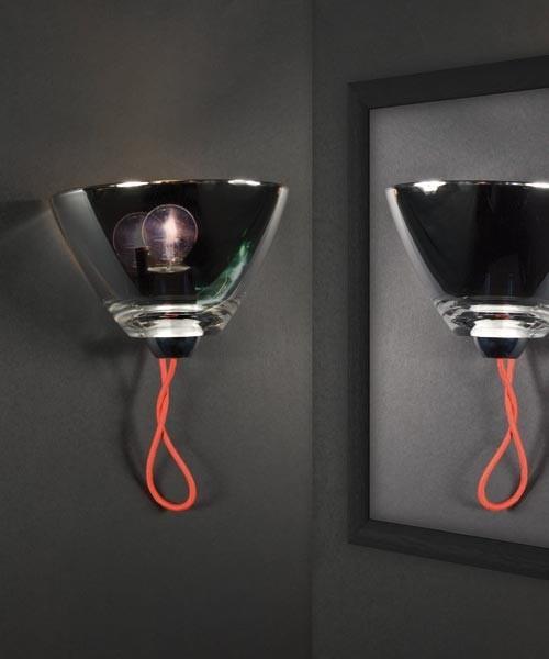 AV Mazzega Mirror AP1110 Lampada Parete 10,5cm 2 Colori