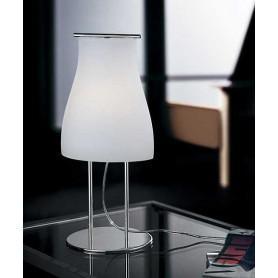 De Majo Bell T0 Lampada Tavolo Bianco Satinato