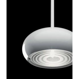 De Majo Boa S1D Lampada Sospensione Cristallo Serigrafato 1 Luce