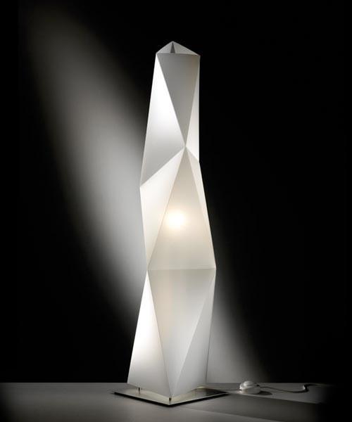 Slamp Diamond Medium Lampada Tavolo 1 Luce R.E
