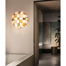 SLAMP Mida Amber Lampada Moderna da Soffitto Ambra