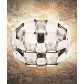 SLAMP Mida White/Platinum Lampada Moderna da Soffitto Bianco