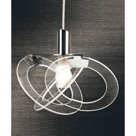 Orbit 738/35 S Lampadario 1 Luce Nero- Ultimo Pezzo