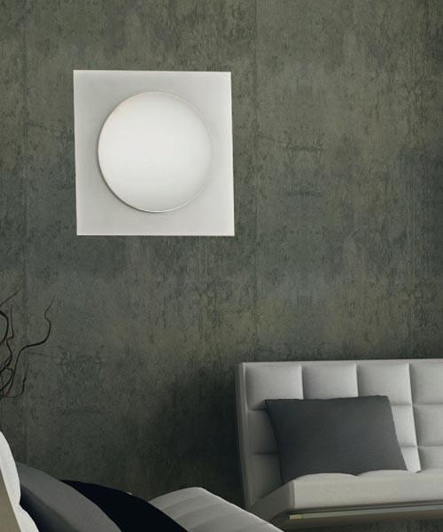 Cipìqua 728/40 PA Lampada Parete/Soffitto Verde - Ultimi Pezzi