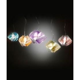 Slamp Gemmy Prisma Color Lampada Sospensione 5 Colori