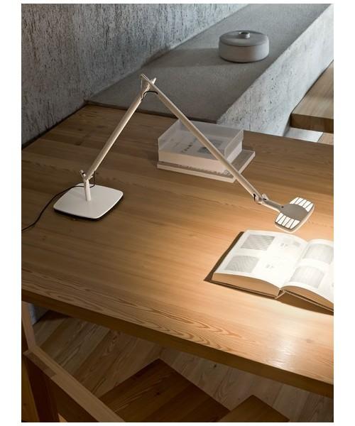Luceplan Otto Watt Lampada Tavolo Bianco