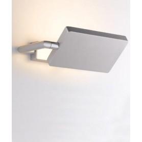 FAN EUROPE Led Book AP GR Lampada da Parete a LED Grigio