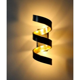 FAN EUROPE Helix AP3 Lampada da Parete a LED 3x3w Nero