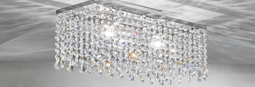CRYSTAL LAMPS: online catalog and discounted prices